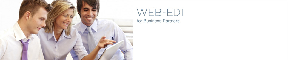 WEB-EDI for Business Partners