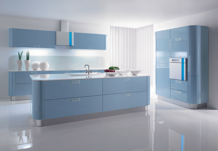 Navy blue kitchens, Cobalt blue kitchens and Blue kitchen cabinets
