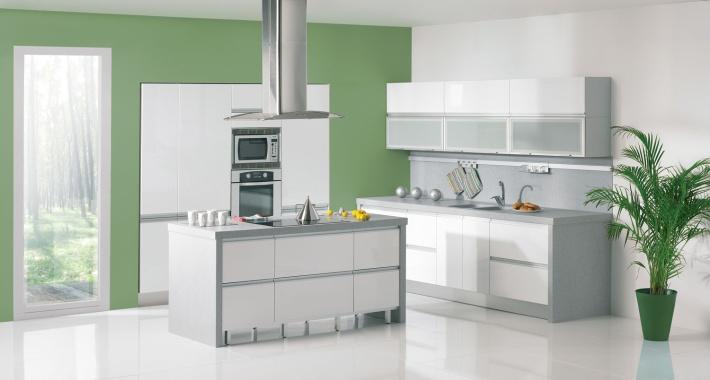 Gorenje Interior Design Kitchen Sigma White Gloss