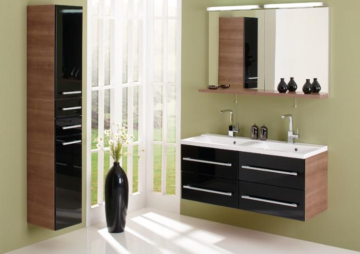 Gorenje Interior Design Bathroom Avon Black High Gloss