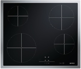 Glass ceramic hob ECT610AX